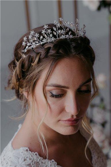 Rhinestones bridal tiara