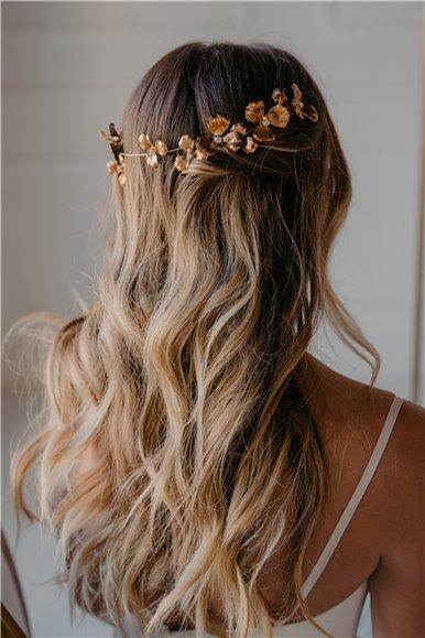 Copper Color Bridal Headband