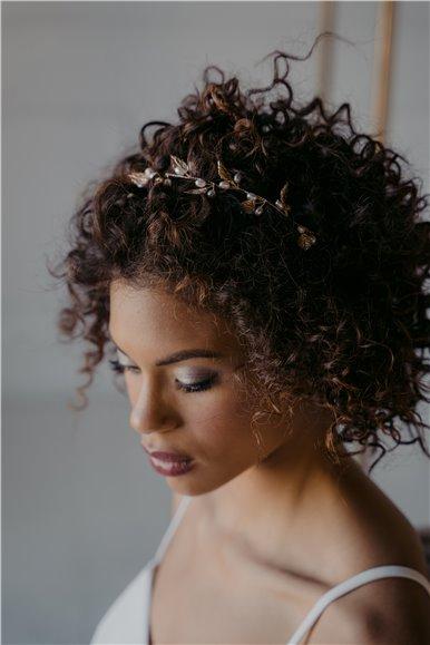 Pearls Bridal Hair Vine